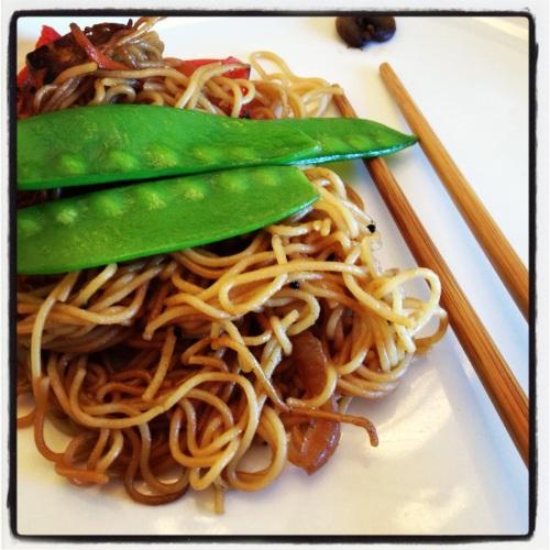 Vegetarian Stir-Fry with Tofu